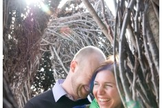 Brooklyn Botanic Garden Engagement Portraits