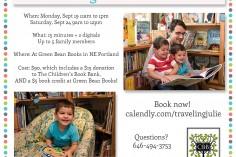 Reading Mini Session Fundraiser Portland
