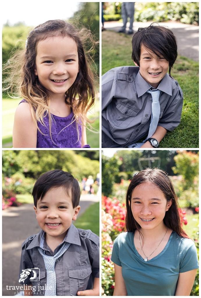 individual child cousins portraits