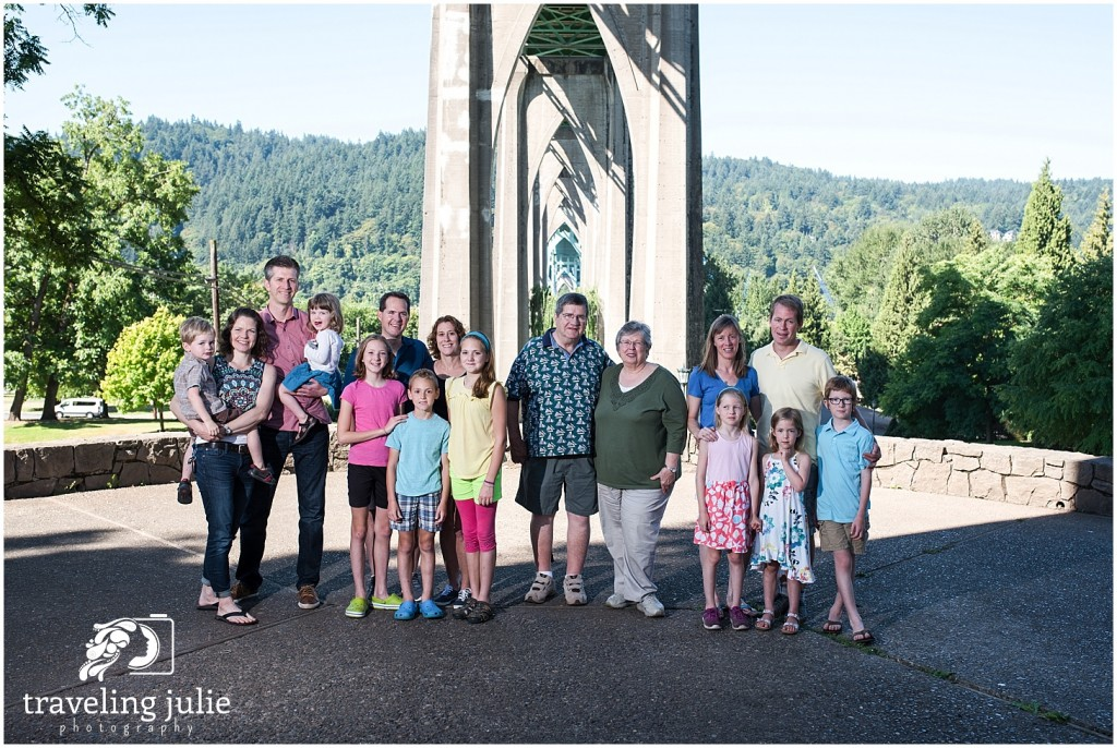 Cathedral Park Extended Family Photography